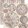 Set of scrapbooking papers - Stamperia - Roses & Laces - SBBL25