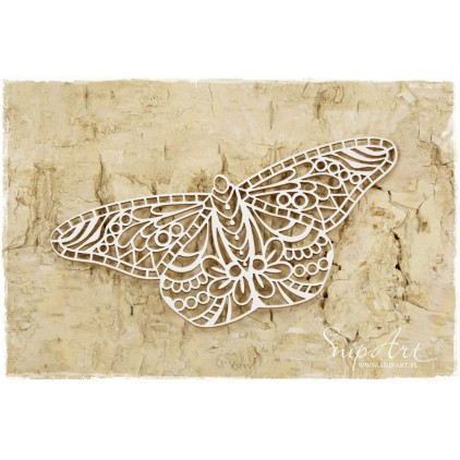 Cardboard - butterfly mandalas small- SnipArt