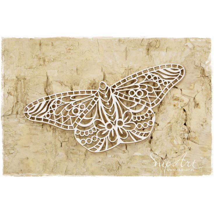 Cardboard - butterfly mandalas small- SnipArt