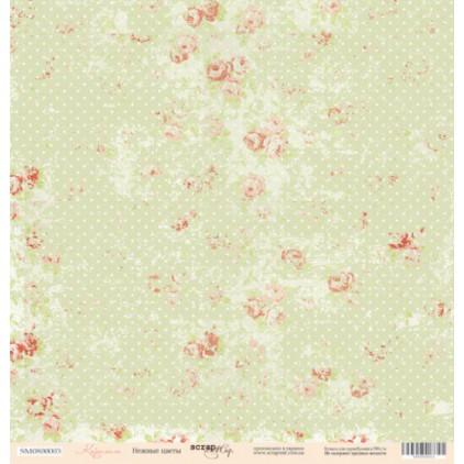 Scrapbooking paper - Scrap Mir - Flowers