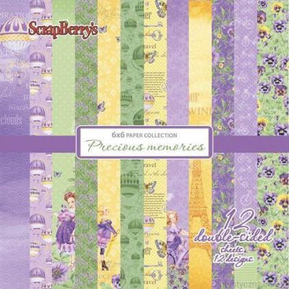 Mały bloczek papierów do scrapbookingu - ScrapBerry's - Precious memories