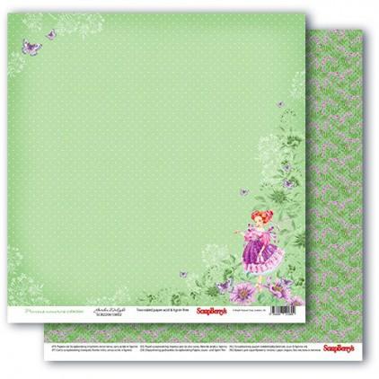 Papier do scrapbookingu – Precious memories - Garden delight- Scrapberry's