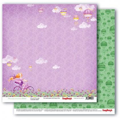 Scrapbooking paper - Precious memories - Sweet serenity- Scrapberry's