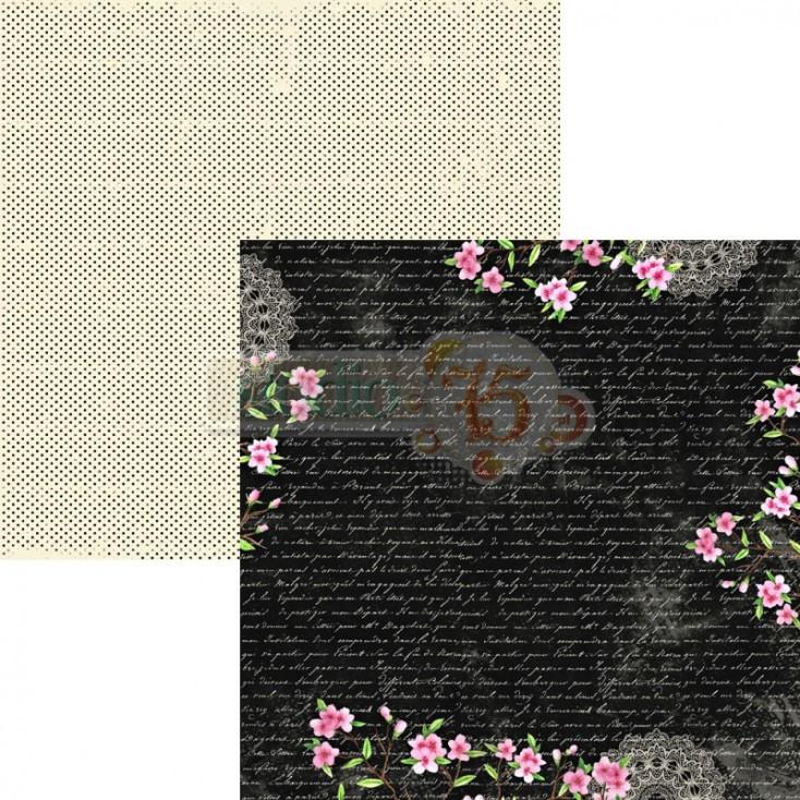 Scrapbooking paper - Studio 75 - Cherry Blossom 02
