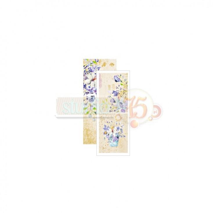 Scrapbooking paper, strip - Studio 75 - Violet love 012