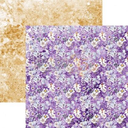 Scrapbooking paper - Studio 75 - Violet love 06