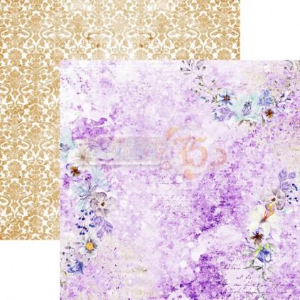 Scrapbooking paper - Studio 75 - Violet love 05