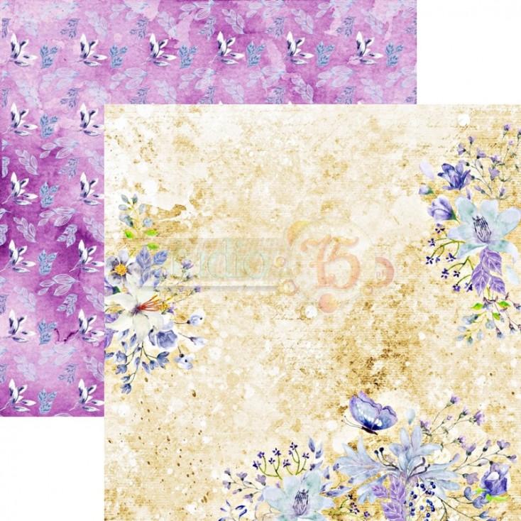 Scrapbooking paper - Studio 75 - Violet love 03