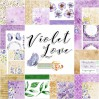 Set of scrapbooking papers - Studio 75 - Violet love