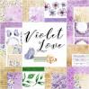 Zestaw papierów do scrapbookingu - Studio 75 -Violet love