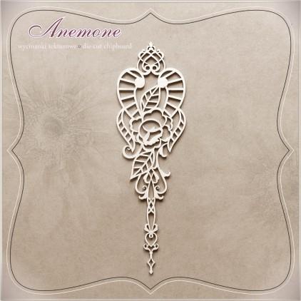 Wycinanka tekturowa - Anemone - Dekor 01