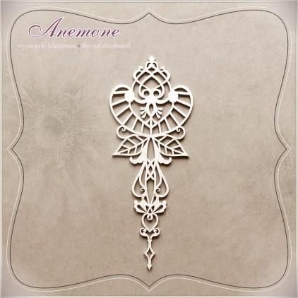 Wycinanka tekturowa - Anemone - Dekor 02