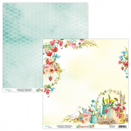 Papier do scrapbookingu - Mintay Papers - Farmlife 01