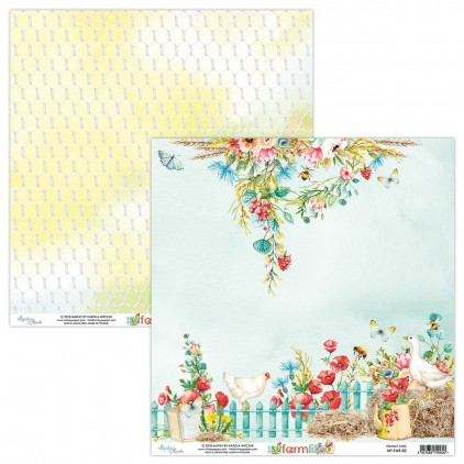 Scrapbooking paper - Mintay Papers - Farmlife 03