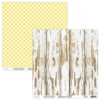 Papier do scrapbookingu - Mintay Papers - Farmlife 04