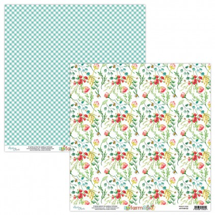 Scrapbooking paper - Mintay Papers - Farmlife 05