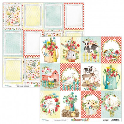 Scrapbooking paper - Mintay Papers - Farmlife 06