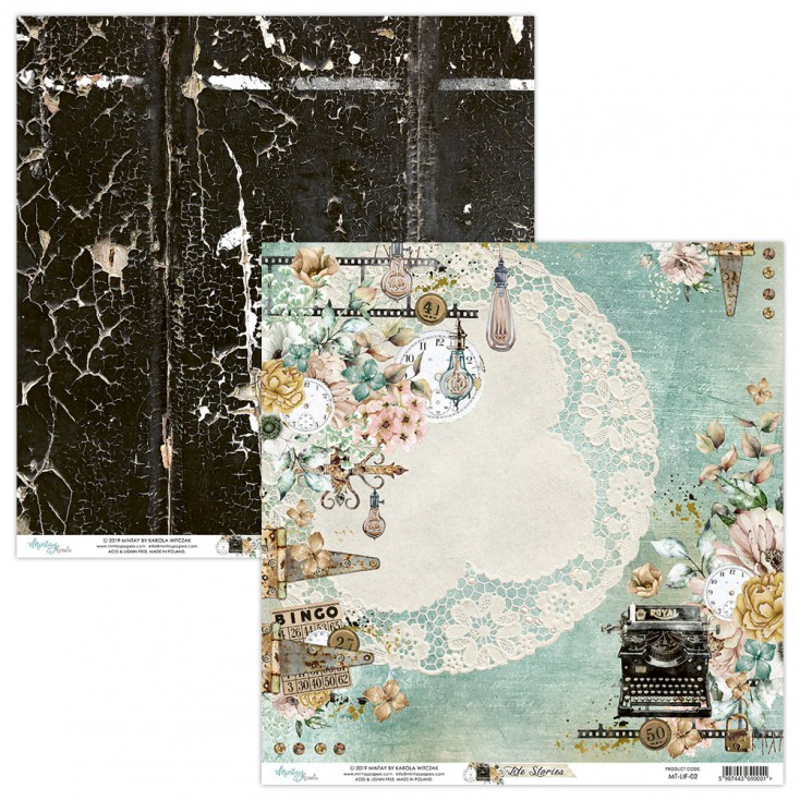 Scrapbooking paper - Mintay Papers - Life Stories 02