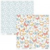 Scrapbooking paper - Mintay Papers - Bloomville 05