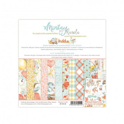 Scrapbooking paper pad - Mintay Papers - Kiddie