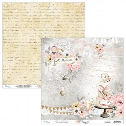 Papier do scrapbookingu - Mintay Papers - Marry me ! 02