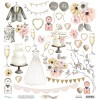 Scrapbooking paper set - Mintay Papers - Marry me!