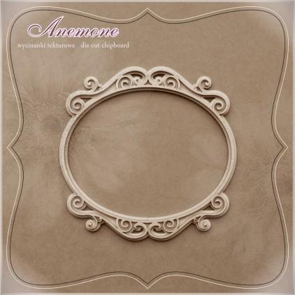 """Chipboard - Anemone -Frame """"Średniowiecze"""" 2D"""