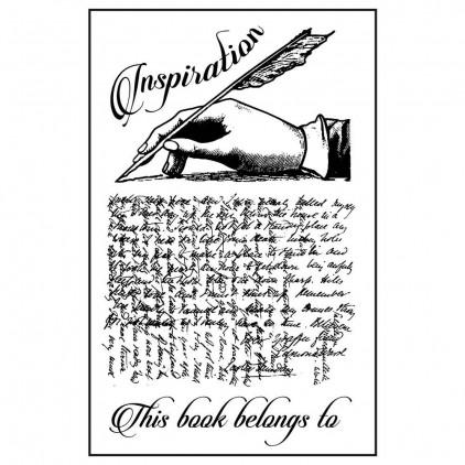 Stemple / pieczątki kauczukowe- Stamperia - Inspiration