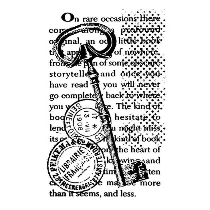 Set of clear stamps - Stamperia - Stamp Key