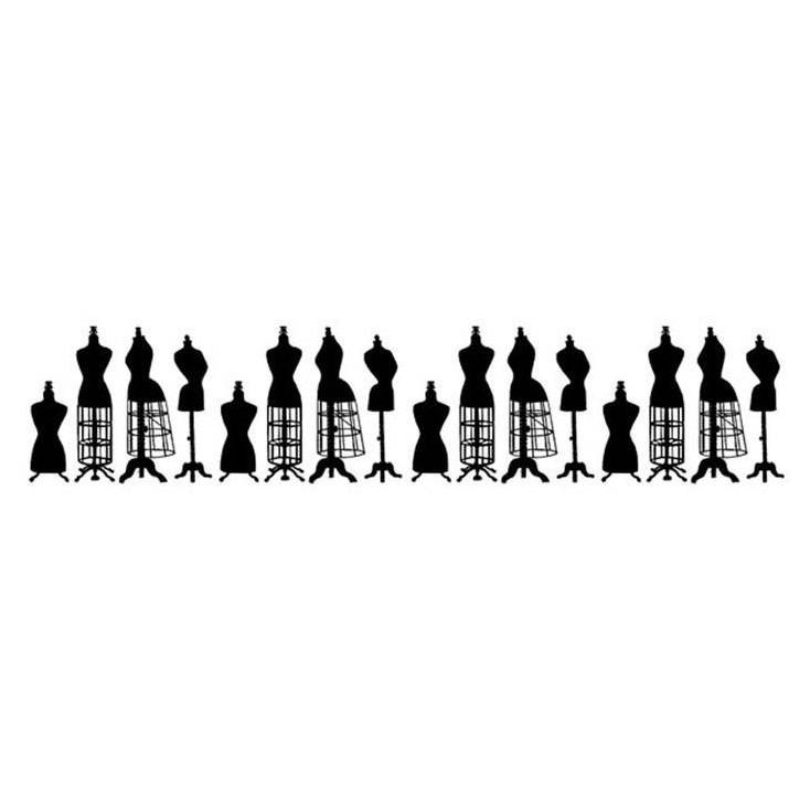 Stemple / pieczątki kauczukowe- Stamperia - Mannequins