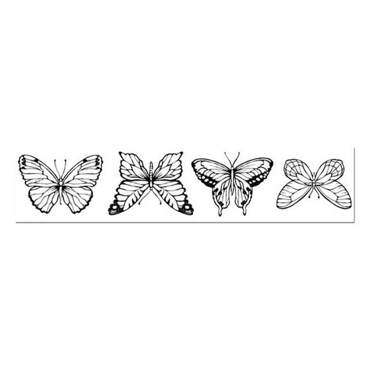 Set of clear stamps - Stamperia - Butterflies