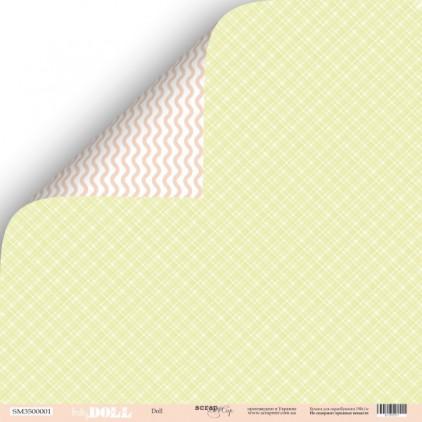 Papier do tworzenia kartek i scrapbookingu - Scrap Mir - Baby Doll - Doll