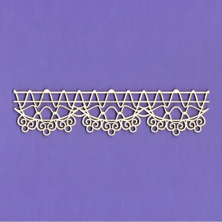 Tekturka - Border koronka Galia - Crafty Moly
