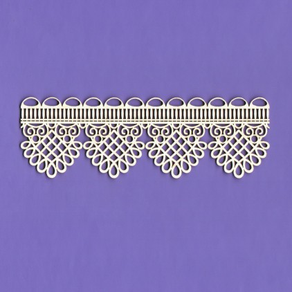 Cardboard element - Border lace Dream - Crafty Moly