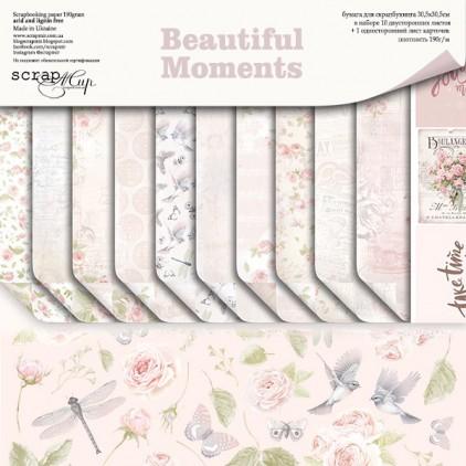 Zestaw papierów 30 x 30 cm - Piękne Chwile - Scrap Mir
