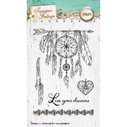 Set of clear stamps - Studio Light - Summer Feelings STAMPSF188