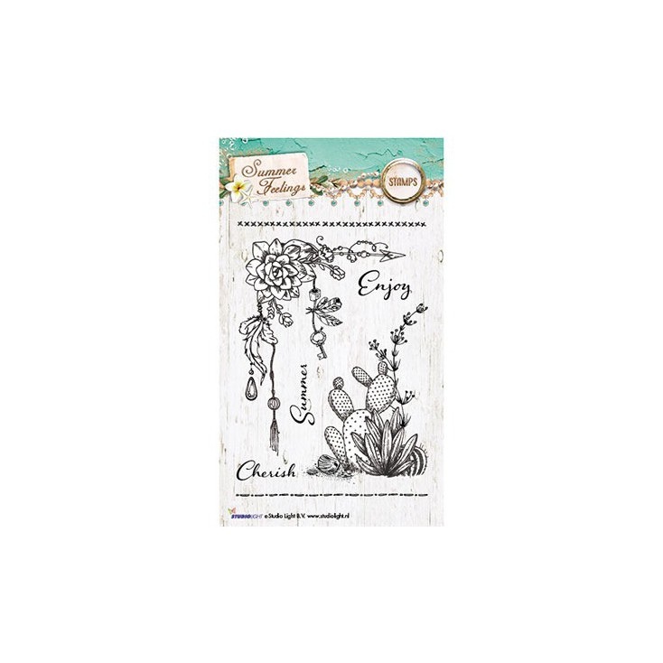 Set of clear stamps - Studio Light - Summer Feelings STAMPSF190