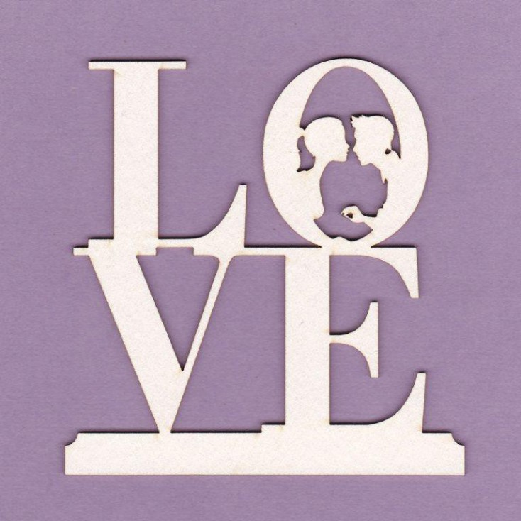 Tekturka - Love z parą- Crafty Moly