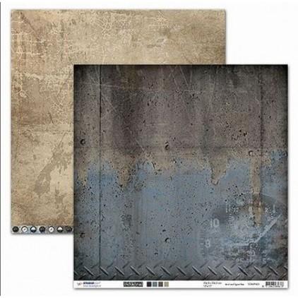 Scrapbooking paper - Studio Light - Industrial 2 - 03