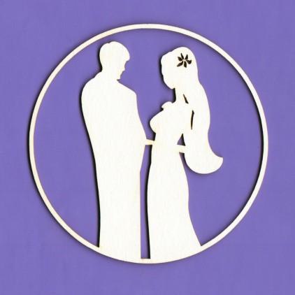 Cardboard element - White Wedding 3 - Crafty Moly
