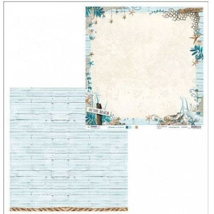Papier do tworzenia kartek i scrapbookingu - Studio Light - Summer at the Beach - 01