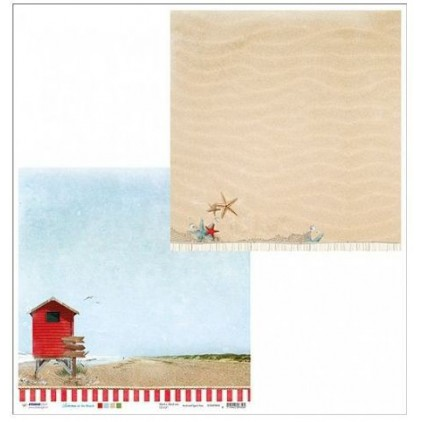 Papier do tworzenia kartek i scrapbookingu - Studio Light - Summer at the Beach - 04