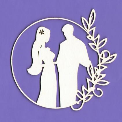 Cardboard element - White Wedding 7 - Crafty Moly