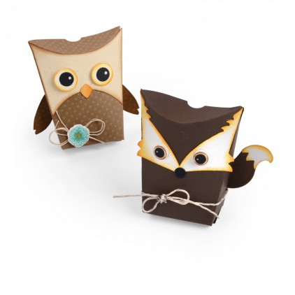 Sizzix Thinlits 661133 - Box, Owl & Fox