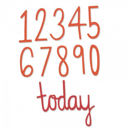 Sizzix Thinlits 661163 - Birthday numbers