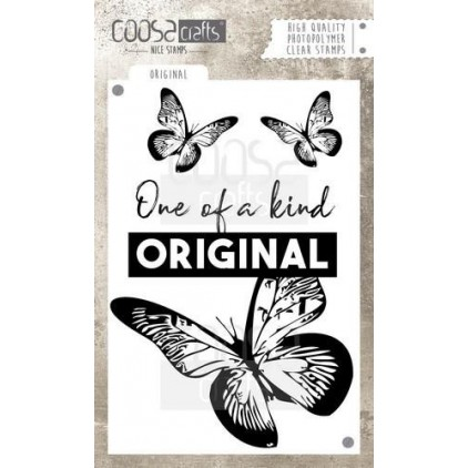 Set of clear stamps - Coosa crafts - Original - COC-024