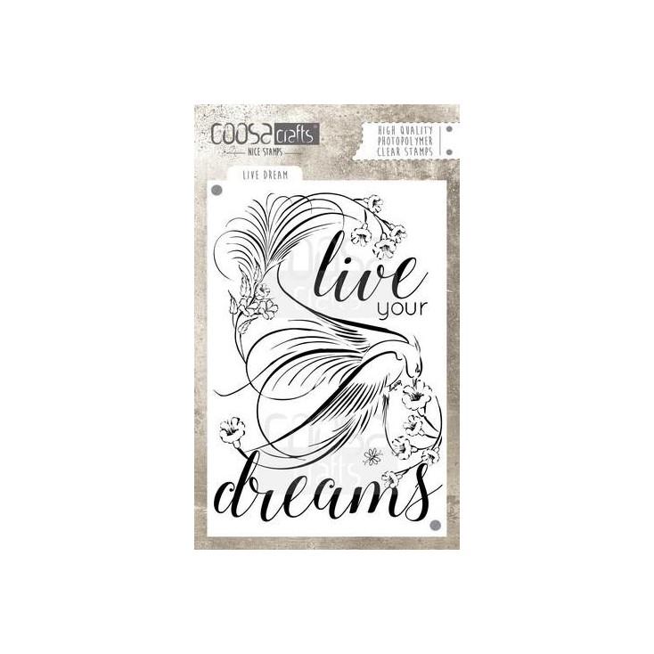 Stemple / pieczątki - Coosa crafts - Live dream - COC-030