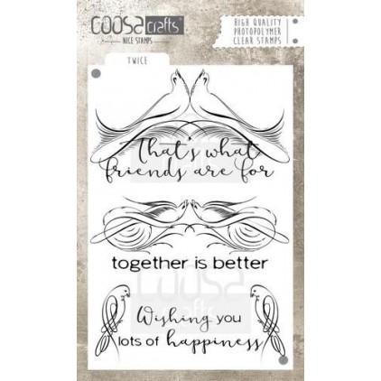 Stemple / pieczątki - Coosa crafts - Twice - COC-031