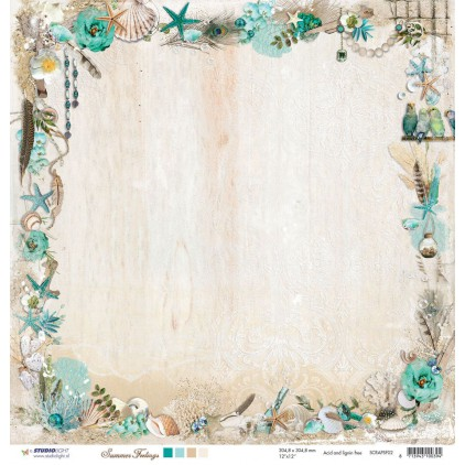Scrapbooking paper - Studio Light - Summer Feelings 02