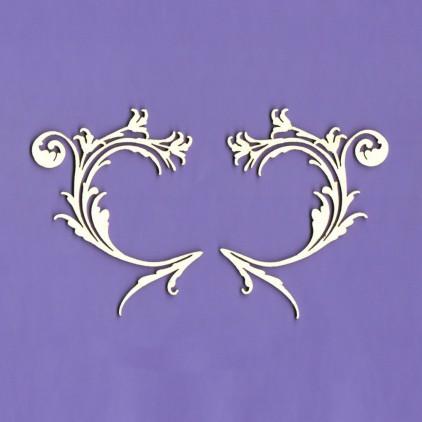 Ornamenty Desire tekturka - Crafty Moly 155